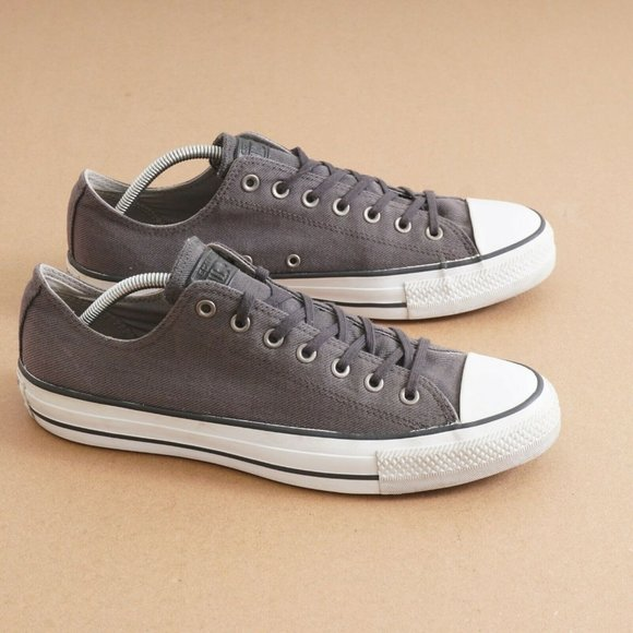 Converse Mens Ox Sneakers Shoes Low Top Gray 11